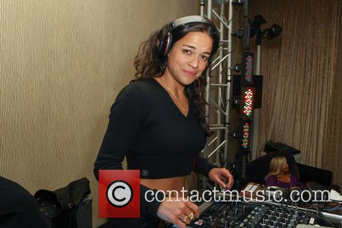 Michelle Rodriguez, The Beverly Hilton