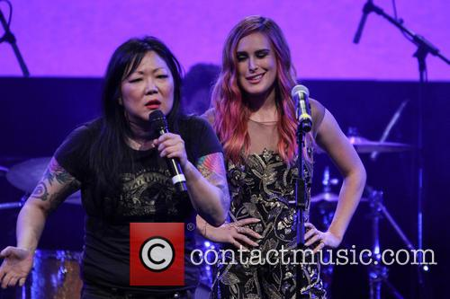 Margaret Cho and Rumer Willis 2