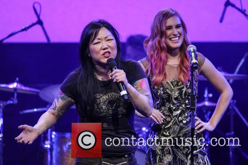 Margaret Cho and Rumer Willis 3
