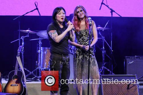 Margaret Cho and Rumer Willis 5