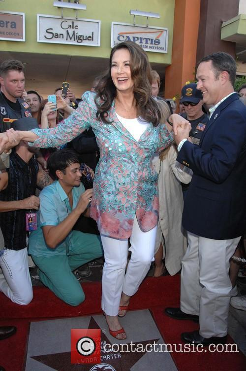 Lynda Carter - Palm Springs Walk of Stars