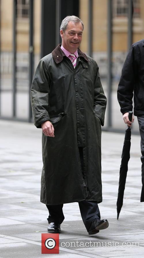 Nigel Farage at BBC House