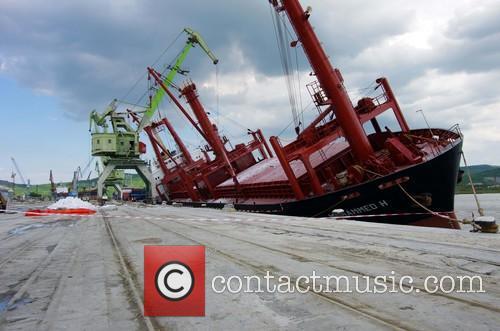 Bulgaria Ship Danger Inclination