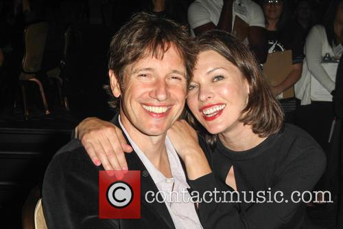Paul W. S. Anderson and Milla Jovovich 2