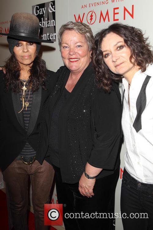 Linda Perry, Lorri Jean, Sara Gilbert, The Beverly Hilton