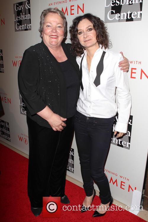 Lorri Jean and Sara Gilbert 3