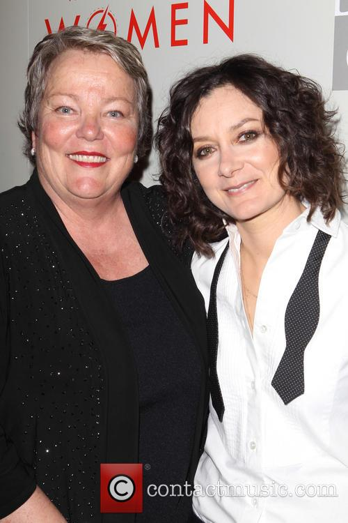 Lorri Jean and Sara Gilbert 1