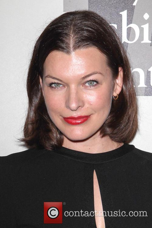 Milla Jovovich, The Beverly Hilton