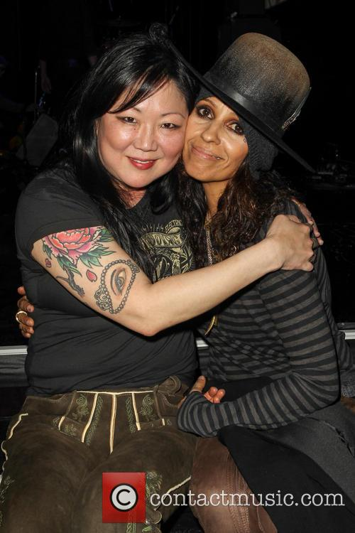 Margaret Cho and Linda Perry 2