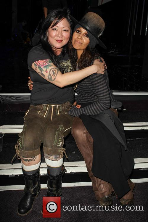 Margaret Cho and Linda Perry 5