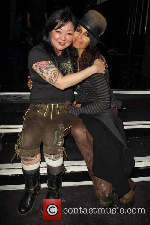 Margaret Cho and Linda Perry 8