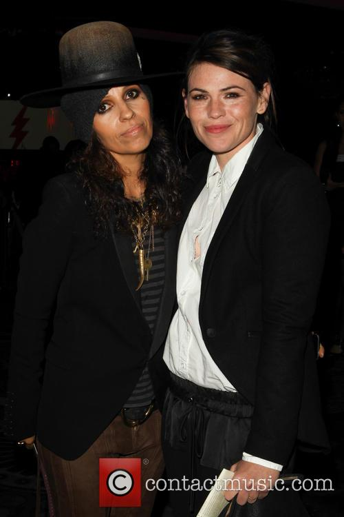 Linda Perry, Clea DuVall, The Beverly Hilton