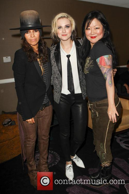 Linda Perry, Evan Rachel Wood and Margaret Cho