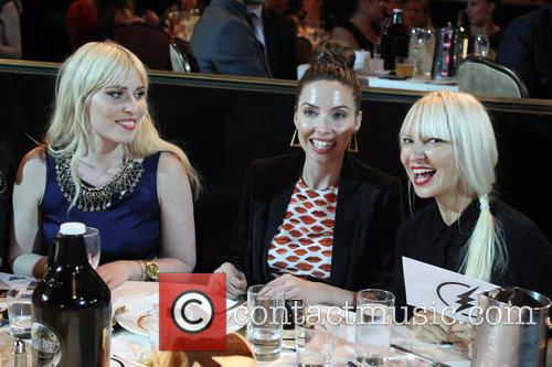 Natasha Bedingfield, Whitney Cummings and Sia 5
