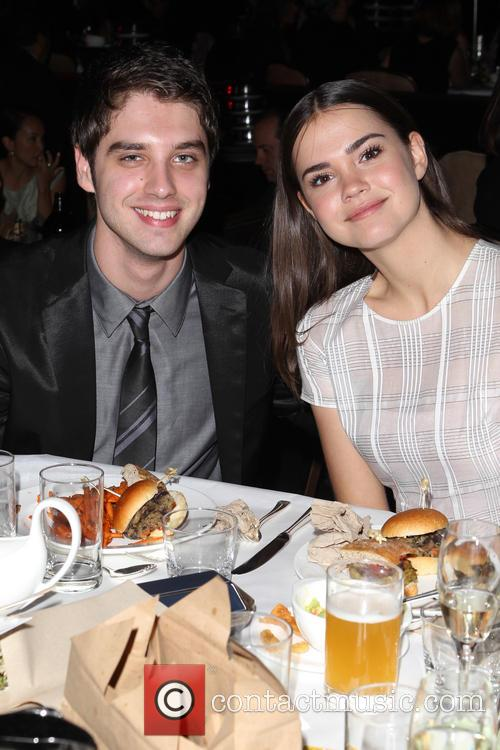 David Lambert and Maia Mitchell 1