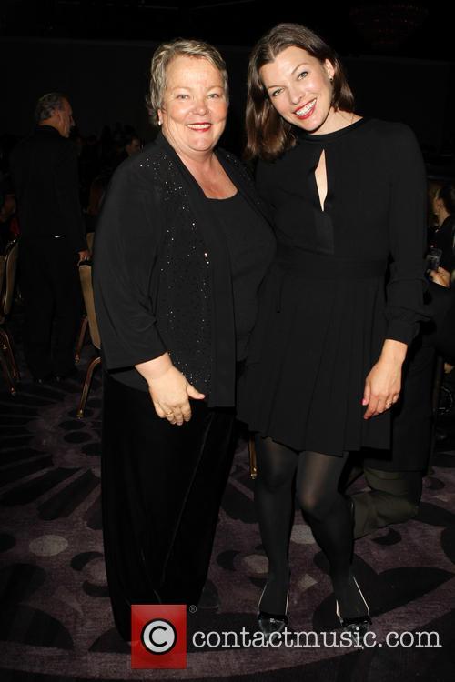 Luann Boylan and Milla Jovovich 2
