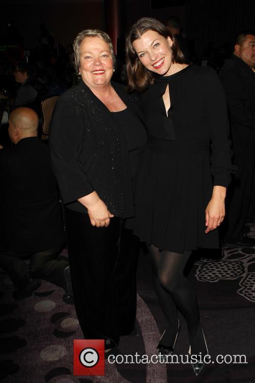 Luann Boylan and Milla Jovovich 1