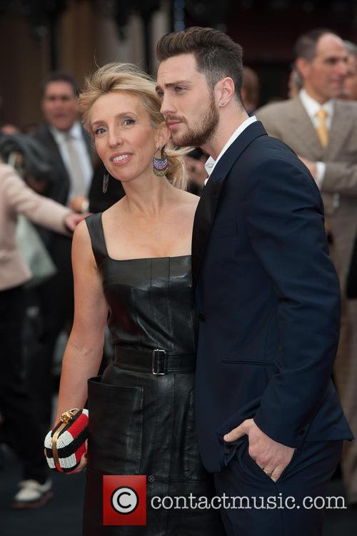 Sam Taylor Wood and Aaron Taylor-johnson 9