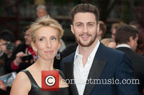Sam Taylor Wood, Aaron Taylor-Johnson, Odeon Leicester Square