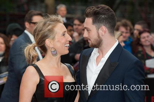 Sam Taylor Wood and Aaron Taylor-johnson 1