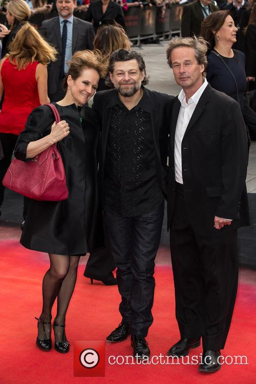 Andy Serkis and Lorraine Ashbourne 3