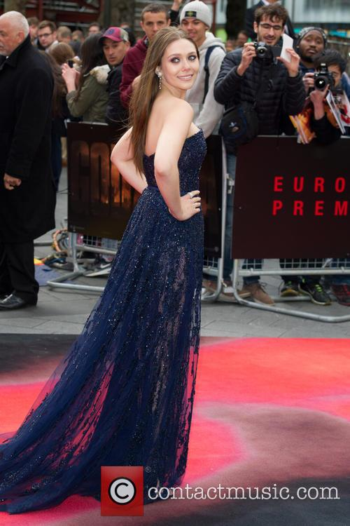 Elizabeth Olsen, Leicester Sqare, Odeon Leicester Square