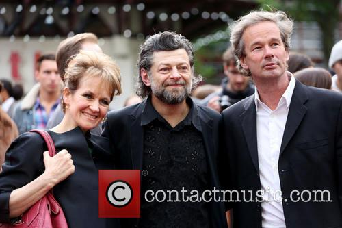 Andy Serkis, Lorraine Ashbourne, Odeon Leicester Square
