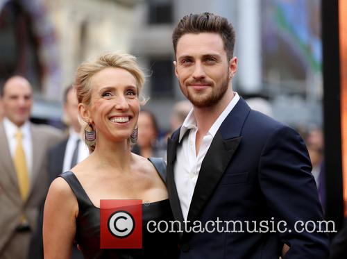 Sam Taylor Wood and Aaron Taylor Johnson 4