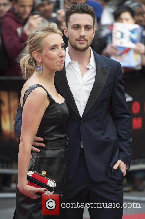 Aaron Taylor-johnson and Sam Taylor 3
