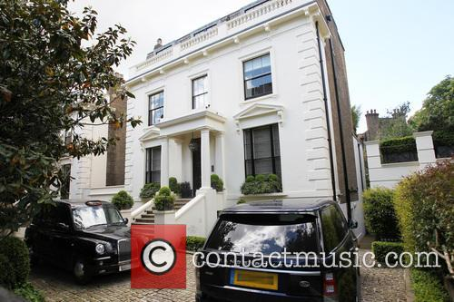 A general View of Gary Barlow's expensive residence...