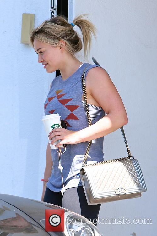 Hilary Duff Gym