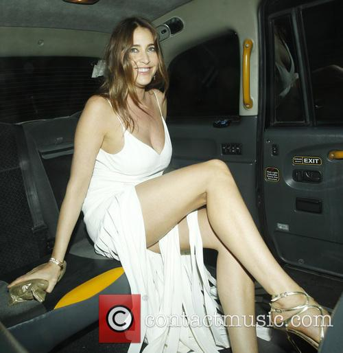 Lisa Snowdon At Chiltern Firehouse