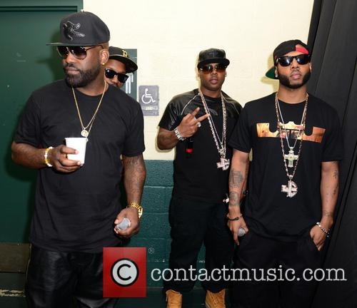 Jagged Edge, Richard Wingo, Kyle Norman and Brian Casey