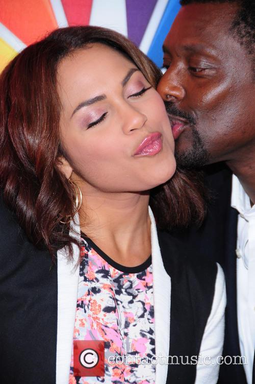 Monica Raymund and Eamonn Walker 1