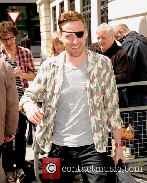 Ricky Wilson leaves the BBC studios