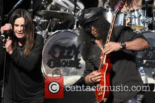 Ozzy Osbourne and Slash 2