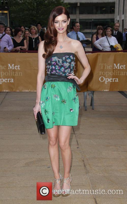 Lydia Hearst-Shaw, The Metropolitan Opera House NYC