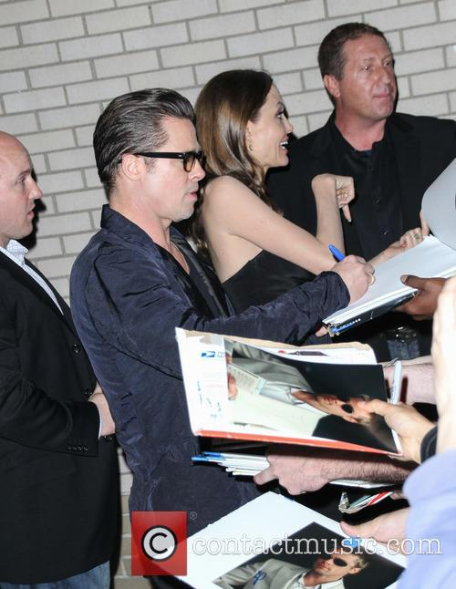 Brad Pitt and Angelina Jolie 10