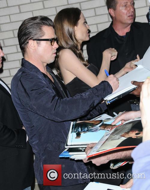 Brad Pitt and Angelina Jolie 8