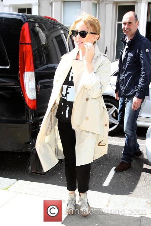 Kylie Minogue at Studio
