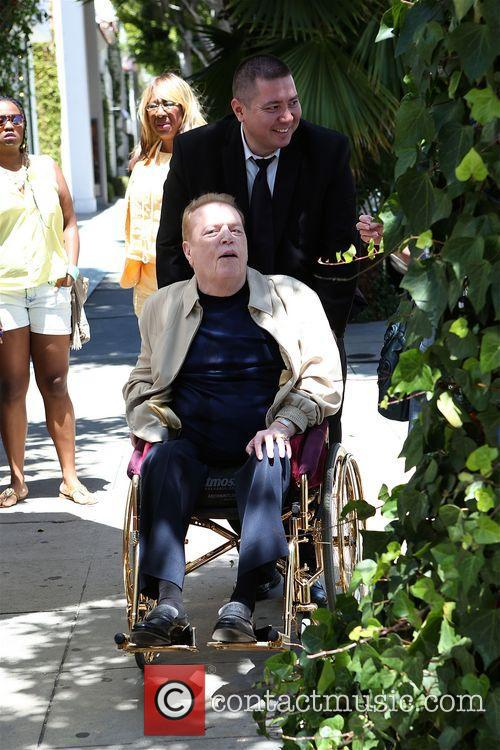Larry Flynt visits The Ivy
