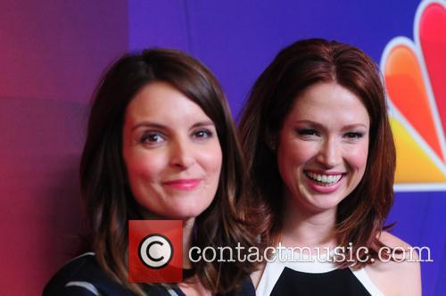 Tina Fey and Elliie Kemper 2