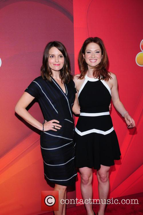 Tina Fey and Elliie Kemper 1
