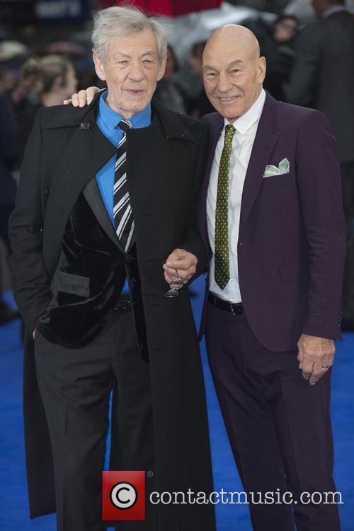 Ian McKellen and X-Men 2