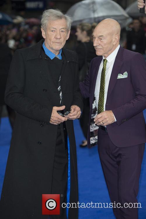 Ian McKellen and X-Men 1