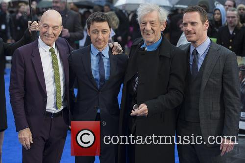 Patrick Stewart, James Mcavoy, Ian Mckellen and Michael Fassbender 2