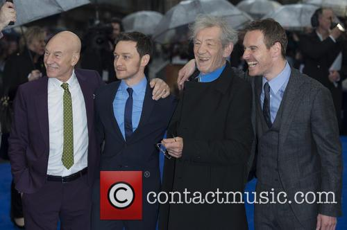 Patrick Stewart, James Mcavoy, Ian Mckellen and Michael Fassbender 3