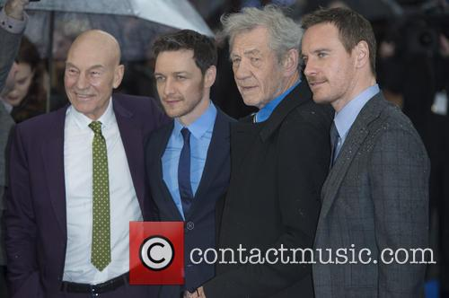 Patrick Stewart, James Mcavoy, Ian Mckellen and Michael Fassbender 4