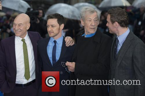 Patrick Stewart, James Mcavoy, Ian Mckellen and Michael Fassbender 1