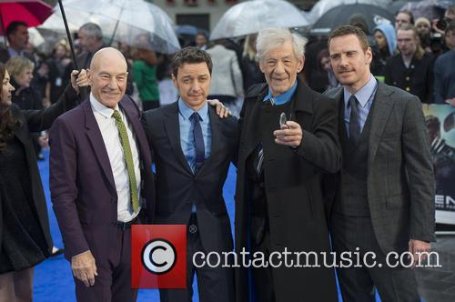 Patrick Stewart, James Mcavoy, Ian Mckellen and Michael Fassbender 5